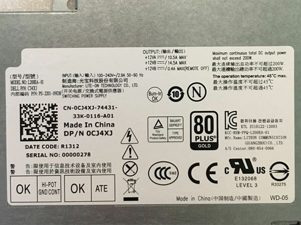 Dell L200EA-01